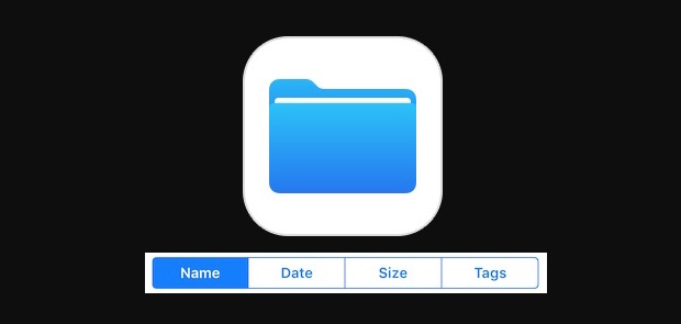 How to sort Files on iPad and iPhone
