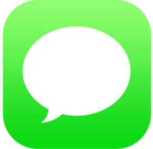 iOS Messages icon