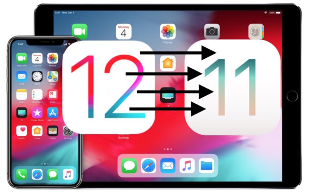 How to downgrade iOS 12 and remove iOS 12 from an iPhone or iPad