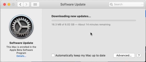 How to download the final version of macOS Mojave from beta