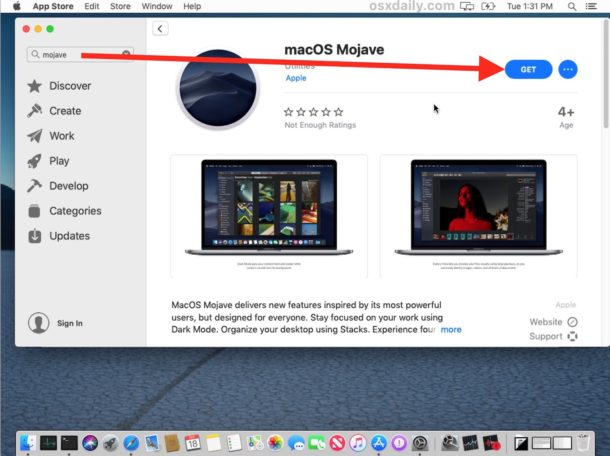 How to update macOS Mojave beta to final version