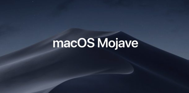 Download macOS Mojave 10.14 now available