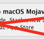 Disable Upgrade to MacOS Mojave notification alerts