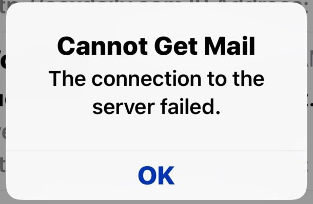 cannot get mail iphone how to fix cannot get mail error on iphone and 1250