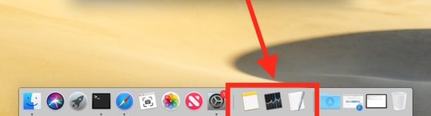 Hide or Show Recent Applications in Mac Dock