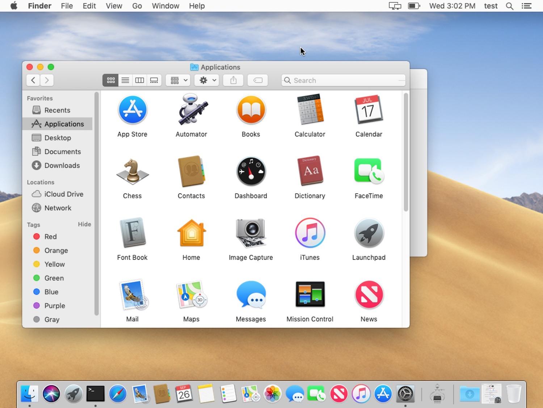 Light mode theme in Mac OS