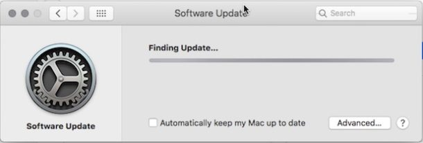 How to install system software updates in Mac OS