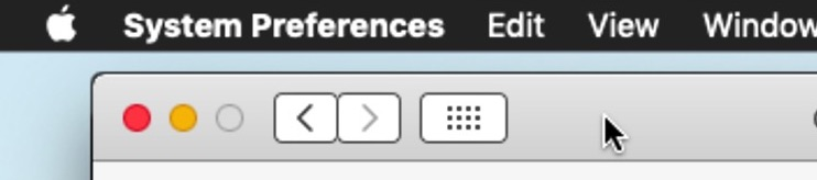 Modify Dark theme to limit to menu bar and Dock in macOS
