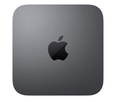 Space gray Mac Mini