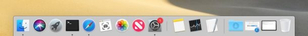 Recent Applications in Dock enabled