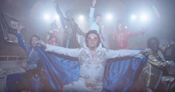 Apple Elvis group FaceTime commercial for iPhone