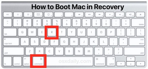 How to boot a Mac in Recovery mode