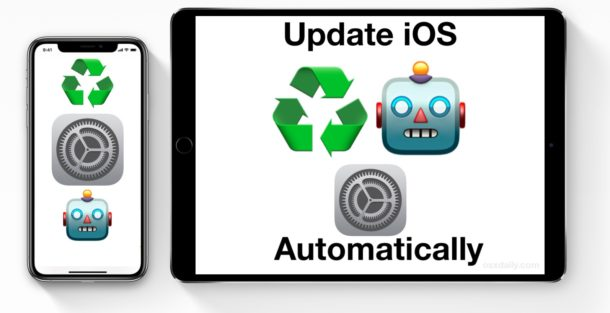 How to update iOS automatically on iPhone or iPad
