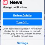 Manage Notifications in Notification Center