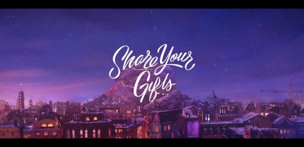 Share Your Gifts Apple Holiday ad for 2018