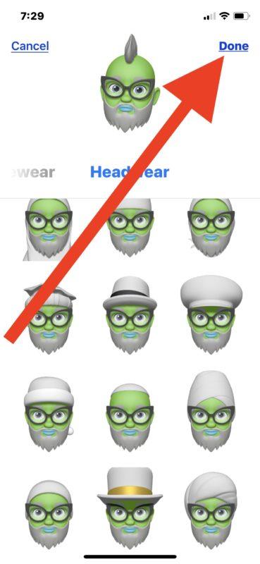 Make a Memoji Animoji on iPhone