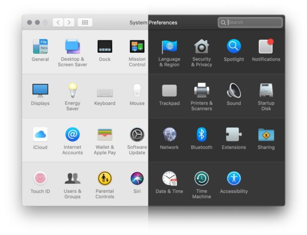 How to enable the Light appearance theme on Mac