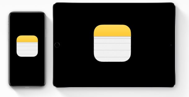 How to create notes from the lock screen of iPhone or iPad
