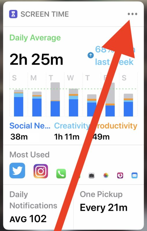 How to disable Screen Time Weekly Report notifications in iOS