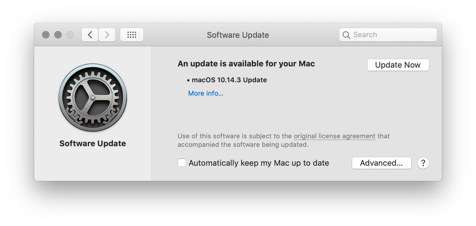 Mac os update from sierra to mojave az