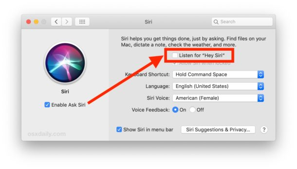 How to enable Hey Siri on Mac