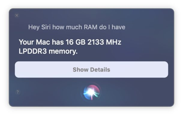 Using Hey Siri on Mac