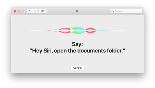 Setting up Hey Siri on Mac