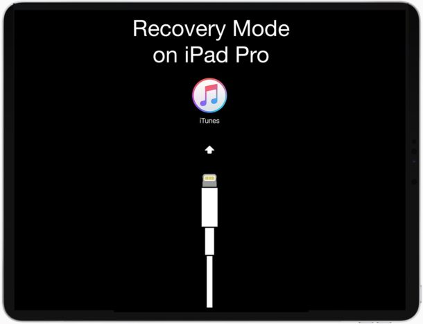 How to enter and exit Recovery Mode on iPad Pro
