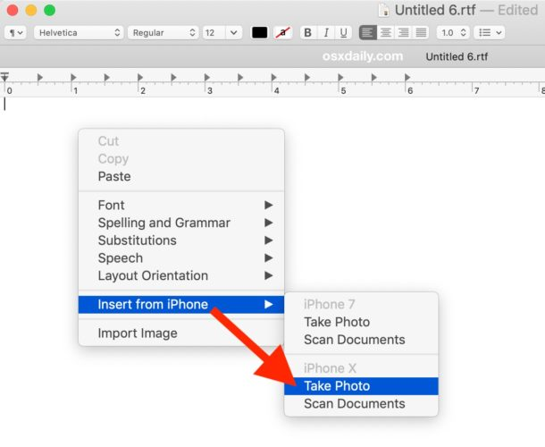 How to use the Continuity Camera from the Mac app