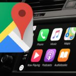 Google Maps on CarPlay