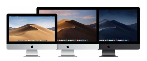 The iMac lineup