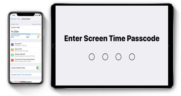 How to change the Screen Time passcode in iOS