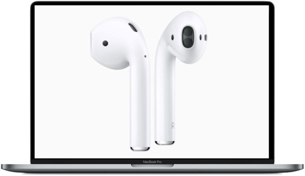 How to use AirPods with Mac
