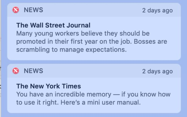 How to turn off Apple News Notifications on Mac