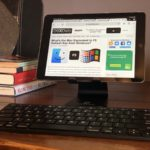 iPad with Chrome and external keyboard