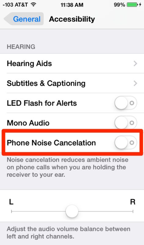 Disable Phone Noise Cancelation on iPhone can be helpful for resolving call sound issues