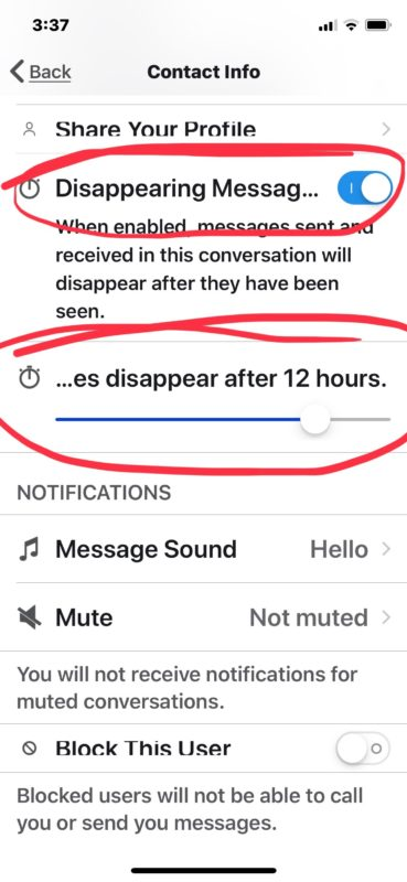 How to enable and use disappearing messages in Signal