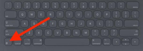 Access Emoji on iPad by pressing the Emoji key on some iPad keyboards