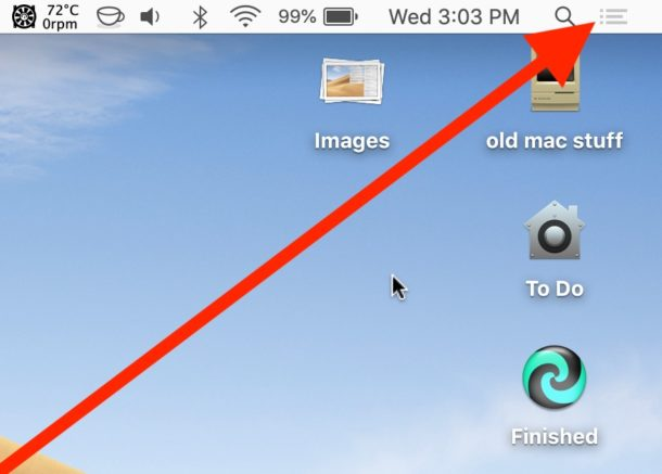 How to disable Do Not Disturb mode on Mac quickly from the menu bar