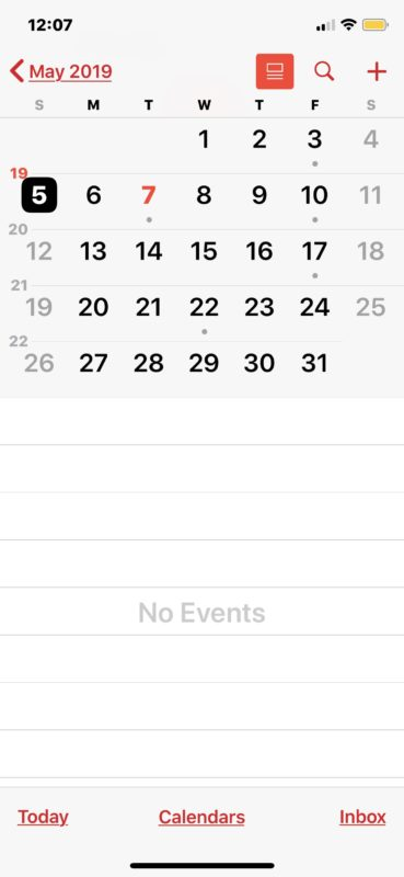 Holidays removed from Calendar on iOS