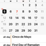 How to disable Holiday Calendar on iPhone or iPad