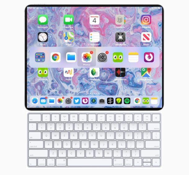 Essential iPad keyboard shortcuts