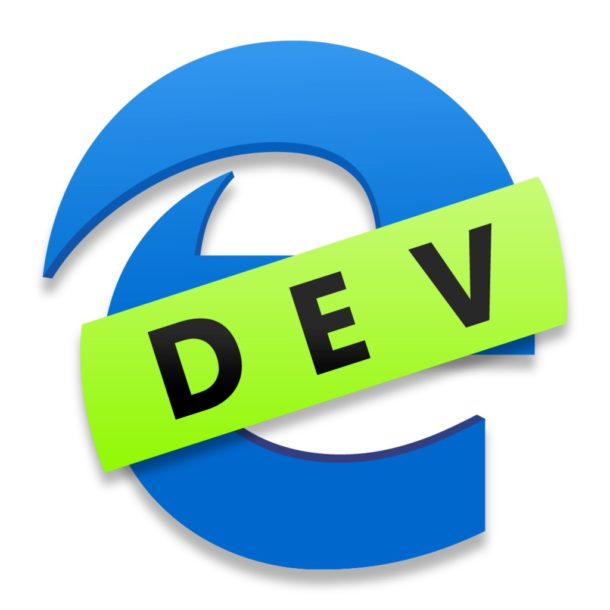 Microsoft Edge for Mac Dev