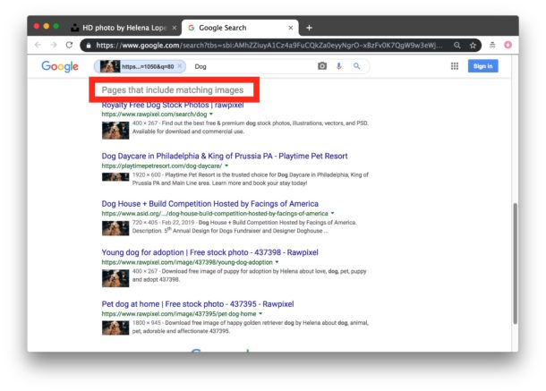 How to Reverse Image Search with Google Chrome the Easy Way | OSXDaily