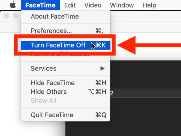 How to turn off FaceTime on Mac