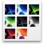 iOS 13 default wallpapers