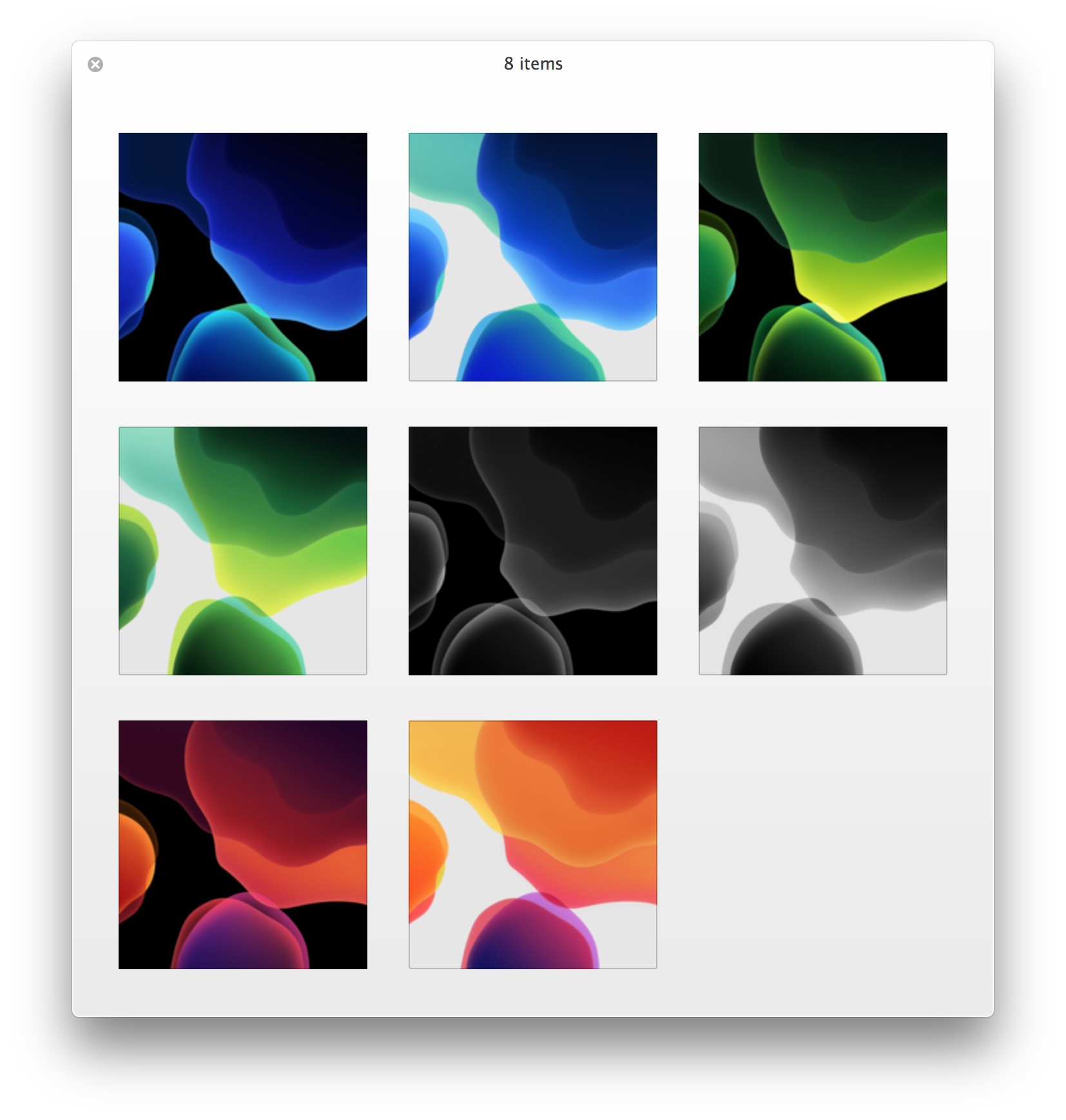 Get The Ios 13 Default Wallpapers Osxdaily