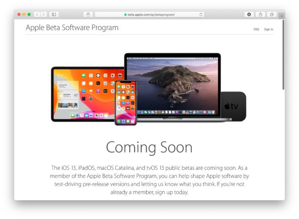 Public Beta of iOS 13 and iPadOS coming in July