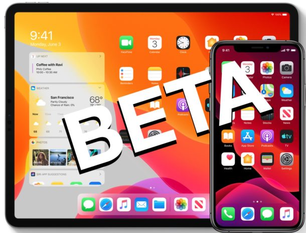 iOS 13 Beta and iPadOS Beta