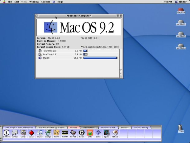 Macintosh System 9 screenshot